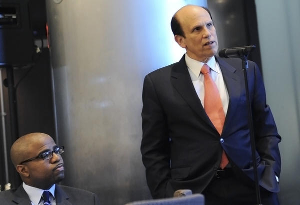 Michael Milken speaks at the Milken Scholars Alumni Symposium in New York.