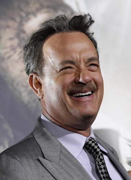 "Hanks' career is on a slide (""Extremely Loud and Incredibly Close,"" ""Cloud Atlas""), but the multiple Oscar winner earns about as much respect from the industry and audiences as anyone. He can be very funny too."