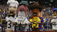 Guido, one of the Milwaukee Brewers' sausages that run the bases at home games, has been found.