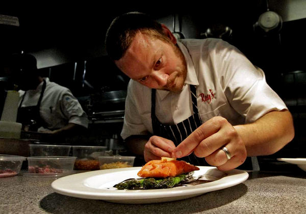 Kris Morningstar, chef at Ray's and Stark Bar, will celebrate the restaurant's two-year anniversary with paella on March 5.