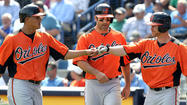 TAMPA, Fla. -- Each of the Orioles' first five batters facing Yankees starter Nik Turley scored before the New York left-hander could record a single out Wednesday afternoon as the O's ran out to a quick seven-run lead in a 10-7 win.