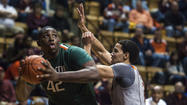 <b><big>Miami 73, Virginia Tech 64</big></b>