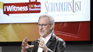 Photo Gallery: Spielberg visits Chandler School, talks about IWitness Challenge