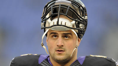 Gradkowski ready to compete to become Ravens' new center