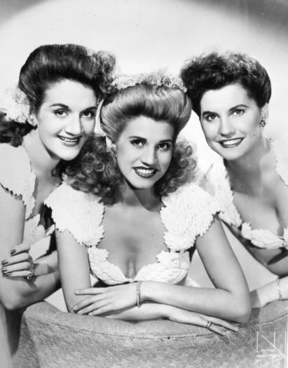 Picture: The Andrews Sisters