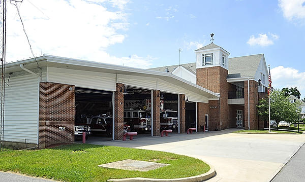 An exterior view of The Volunteer Fire Company of Halfway, Md. Inc. is shown in this file photo. Jeffrey C. Ringer, the administrator and former chief of The Volunteer Fire Company of Halfway, Md. Inc., has been charged with misusing more than $10,000 in company funds over four years to pay for bar and restaurant bills, and a family member's tuition, according to the application for statement of charges filed by Maryland State Police.