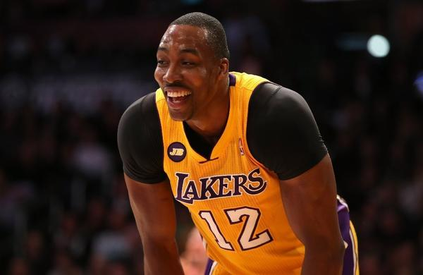 Says Lakers center Dwight Howard: 'Im not in Superman shape. I want to get in Superman shape.'