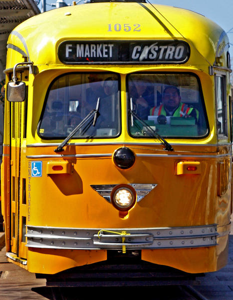 "See the sights on your own terms by taking a historic streetcar from the Embarcadero (the F line) down bustling Market Street to the end of the line at the Castro Street Station. The brightly painted streamlined beauties were mostly built in the 1940s in Milan, Italy. The Castro, which is known as the city's ""gay village"" (it was one of the country's first gay neighborhoods and is still among the largest), comes alive at night when its many restaurants and bars overflow with locals. For low-cost, filling diner food at a neighborhood institution, slide into a counter seat at Orphan Andy's. $2. http://www.sfmta.com."