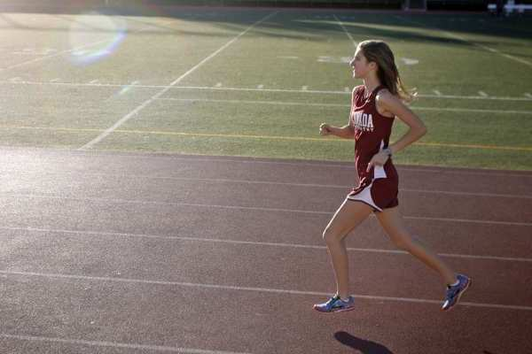 ARCHIVE PHOTO: La Cañada High's Sonja Cwik will look to lead the Spartans distance runners on the track this season.