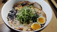 Like Jiro with sushi, Sunny Yim dreams of ramen. Obsession might be too mild a term: Yim pores over the weather report, thinking how the next day's temperature and humidity will affect the amount of water he'll add to his noodle dough.