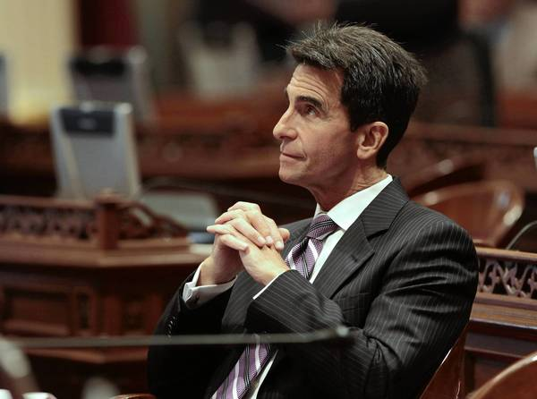 State Sen. Mark Leno (D-San Francisco), shown during a legislative session in 2012, has introduced a bill that would let prosecutors file misdemeanor rather than felony charges in cases of simple possession of heroin, cocaine and other hard drugs. He said the measure would save as much as $200 million a year by keeping fewer offenders behind bars.