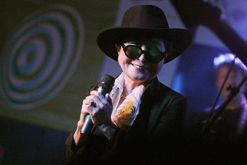 Singer Yoko Ono.