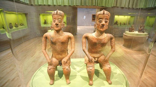 Pre-Columbian artworks are newly on display at the Los Angeles County Museum of Art.
