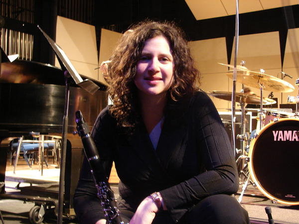 Israeli jazz clarinetist and saxophonist Anat Cohen performs Saturday, March 2, with the Shepherd University jazz band.