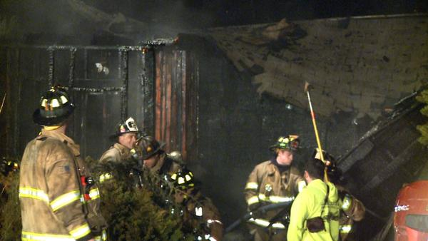 An early morning fire in Berlin caused major damage to a house and killed at least 18 cats.