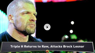 VIDEO Triple H defends Vince McMahon on Raw