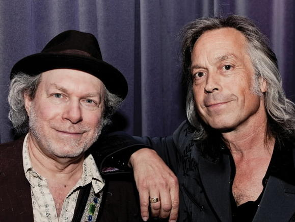 Musicians Jim Lauderdale and Buddy Miller