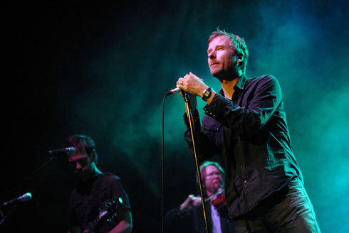 Matt Berninger, lead singer of indie-rock band The National