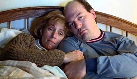 "Two marriages are featured in the Coen Brothers' ""Fargo,"" one gone horribly bad, and the other, between Marge (Frances McDormand) and Norm (John Carol Lynch)  almost idyllic."
