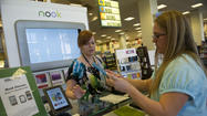 Barnes & Noble said sales at its Nook e-reader and digital-book unit, often touted as the company's best hope for the future, tanked 26% during the crucial holiday quarter as the bookstore giant experienced weakness across all its categories.