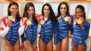 Under Armour teams with USA gymnastics team