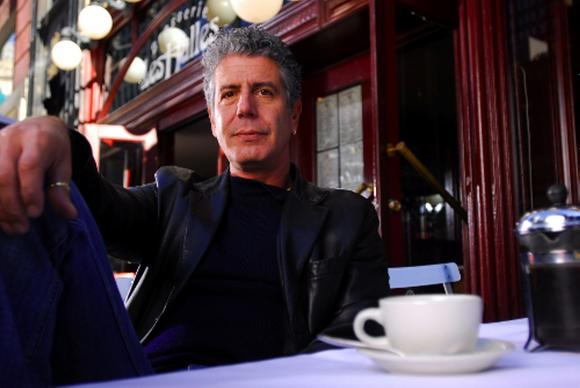 Anthony Bourdain comes