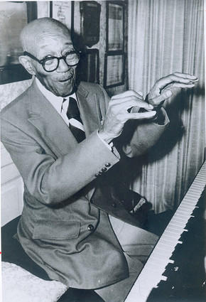 Acclaimed jazz composer and pianist Eubie Blake