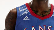 "Photos: KU's Post Season ""Camo"" Uniforms"