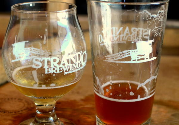 South Bay beer from the Strand Brewing Co.