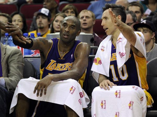 """The Lakers will be wearing """"Los Lakers"""" jerseys for three nights in March."""