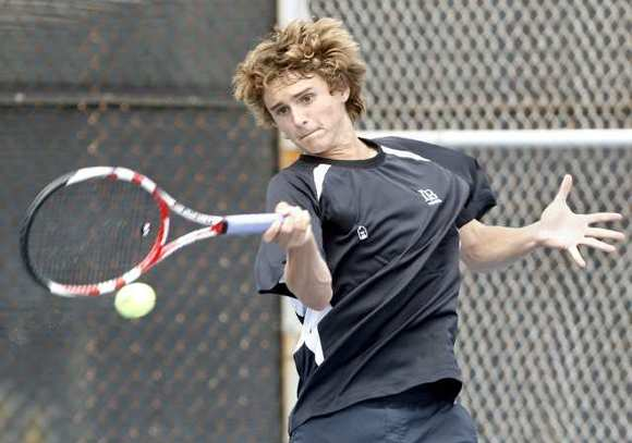 Laguna Beach High senior Teague Hamilton returns as the Breakers' No. 1 singles player.