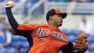 FORT MYERS, Fla. -- After struggling mightily with his control in an ugly one-inning start Thursday, Orioles right-hander Jair Jurrjens acknowledged that lingering flaws in his mechanics are rooted from nagging problems with his right knee.