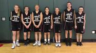 The Laguna Beach Breakers won the NJB Championship Series Division 1 title Sunday. Pictured, from left: Madison Sinclair, Nicole Davidson, Rachel Kenney, Isabel Mansour, Sophia Lucas, Kirsten Landsiedel and Taylor Glenn.