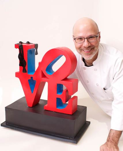 Chef Ron Ben-Israel (photo courtesy of Ron Ben-Israel Cakes