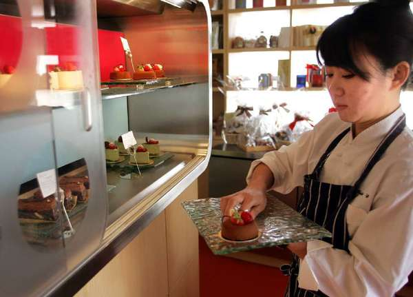 Kristy Choo opened Jin Patisserie in September 2003. The shop will close March 24.