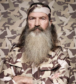 "Duck Dynasty"" star Phil Robertson chose duck hunting over… (Photo"