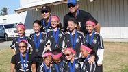 The AYSO Region 55 (Huntington Beach) girls' soccer under-10 team, Black Out White Out, won its division at both the All-Star and All-Star Sectionals tournaments in February.