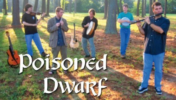 Irish traditional band Poisoned Dwarf will perform at Newport News City Center on March 15, 2013.
