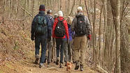 PHOTOS: WDBJ7 takes a hike with the Roanoke Appalachian Trail Club to talk about sequestration effects