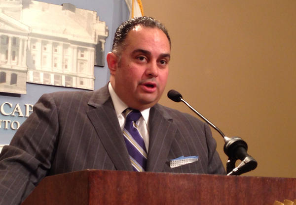 Speaker John A. Perez discusses his legal filing in the Proposition 8 case.