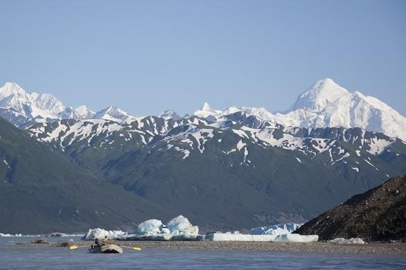 Alsek River trip in Alaska