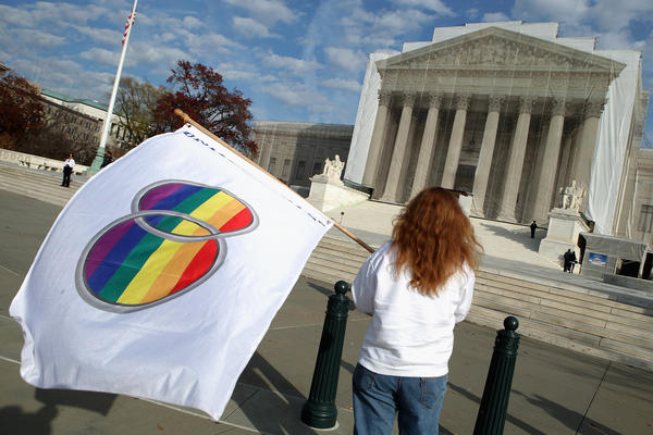 The White House is expected to ask the Supreme Court to strike down California's Prop. 8 Thursday.