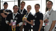 The Lake Bluff Fire Department had a team at Respiratory Health Association's 16th annual Hustle Up the Hancock on Sunday, February 24. Team members climbed 94 floors and they came in third place out of nine fire teams.