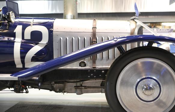 A 1922 Type C3S Strasbourg is among 16 exceptionally rare and valuable Voisin models owned by car collector Peter Mullin that are featured in an exhibit at the Mullin Automotive Museum in Oxnard through April.