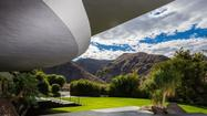 The home designed by renowned Modern architect John Lautner for  comedian Bob Hope and his wife, Dolores, is for sale in Palm Springs for $50 million.