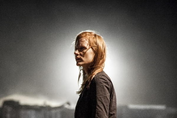 "Jessica Chastain stars in ""Zero Dark Thirty."""