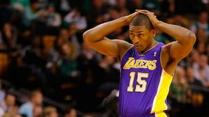 Metta World Peace retroactively given flagrant foul, near suspension