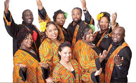 The Harlem Gospel Choir has performed around the world. They will bring their show to The Maryland Theatre on Friday.