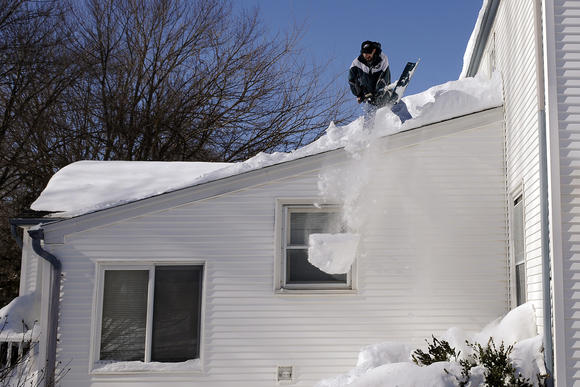 When to shovel your roof?