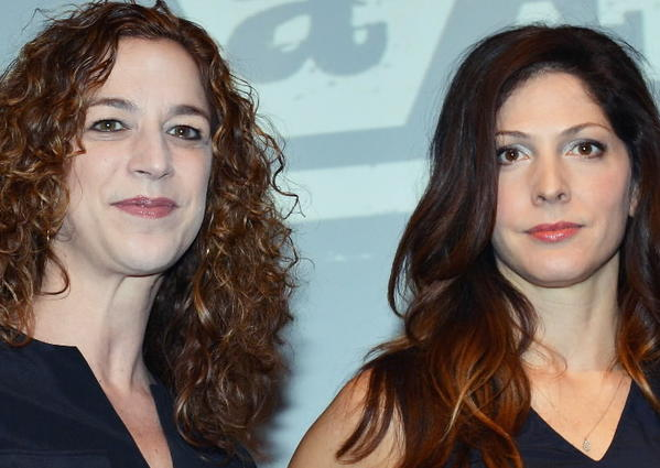 """A Place at the Table"" directors Lori Silverbush and Kristi Jacobson."